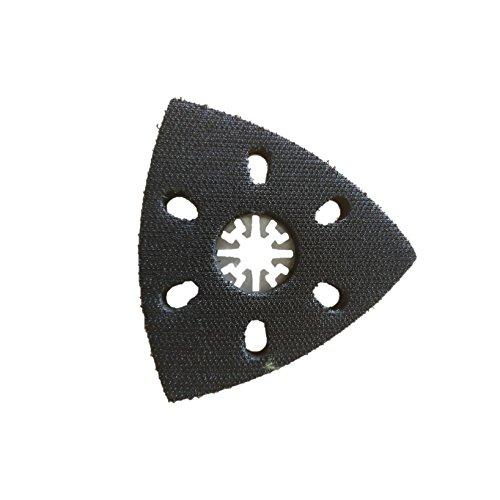 1 x TopsTools UN90SP_1 Extra groß 90mm x 90mm Schleifteller Kompatibel mit Bosch Fein (nicht StarLock) Makita Milwaukee Einhell Parkside Ryobi Worx Workzone Multifunktionswerkzeug-Zubehör