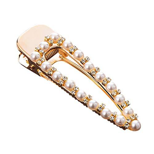 Yvelands Haarschmuck Eleganz Haarspangen Dekorative Hochzeit Haarspange Braut Gold Perlen Schleife...