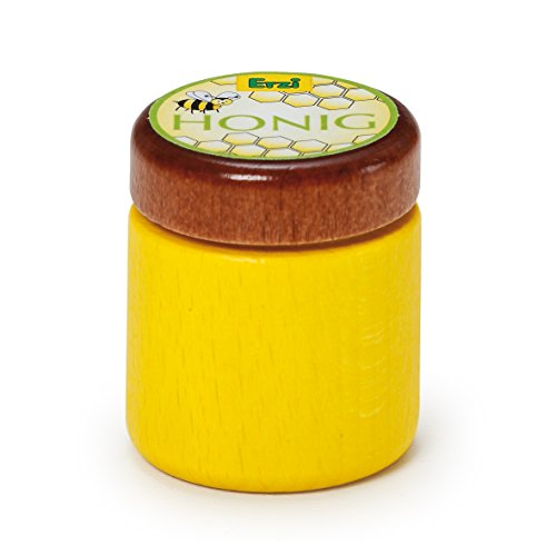 Erzi 3,8 x 4,3 cm Pretend Play Hout Levensmiddelen Shop Ware Honing
