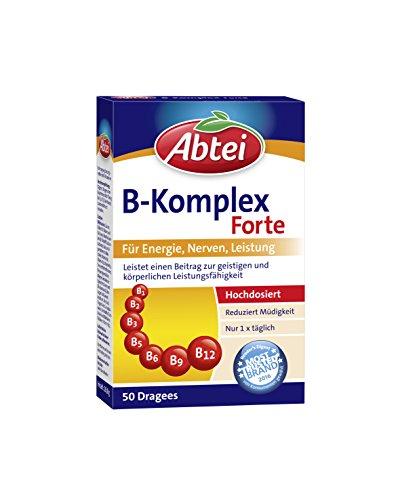 Abtei Vitamin B Komplex Forte, 50 Dragees, 28.8 g