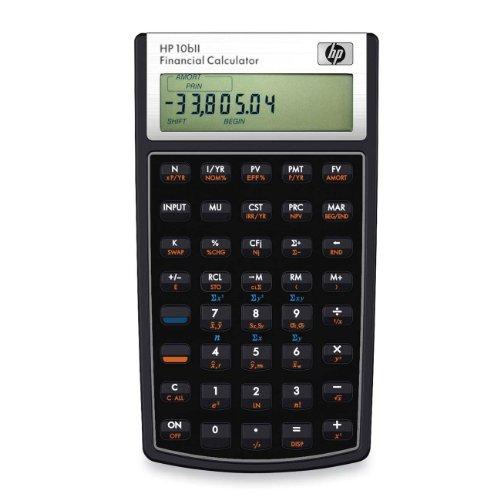 HP - 10BII Finanz-Taschenrechner