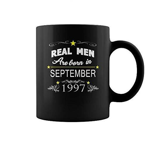 N\A Taza Taza de septiembre de 1997, Amo la Taza y el Hellip; Taza de café (de Color) Camping Viaje Taza de cerámica Botella de Agua