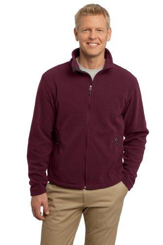 Port Authority Men's Value Fleece Jacket L Maroon