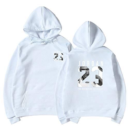 YDMZMS Merk brief print sweatshirt mannen hoodies mode solide hoody mannen trui heren trainingspak mantel S-XXXL XXL wit 76