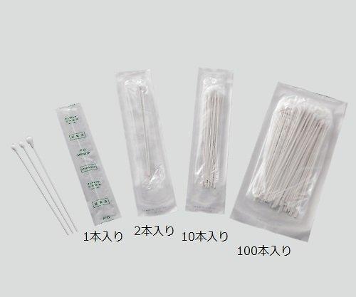 メンティップ 病院用綿棒(紙軸) 1箱(100本入×25袋) 100P1505-NB (日本綿棒) (衛生材料)