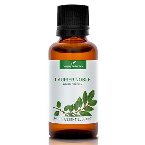 LAURIER NOBLE - 30mL - Huile Essentielle Certifiée BIO par Ecocert - Qualité Premium - 100% Pure, Naturelle, Intégrale. - La Compagnie des Sens