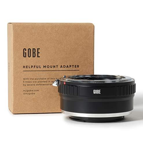 Gobe Lens Mount Adapter: Kompatibel mit Nikon F-Objektiv und Sony E-Kameragehäuse