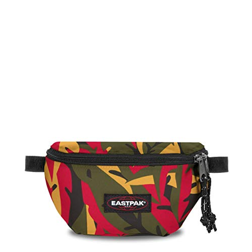 EASTPAK Springer Bum Bag, 16.5 cm, 2 L, Leaves Khaki (Green)