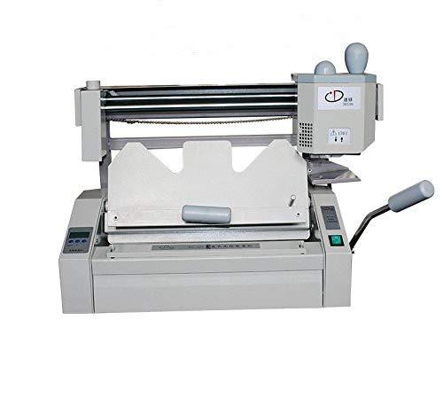 A4 Book Binding Machine Hot Melt Glue Book Paper Binder Puncher office 110V