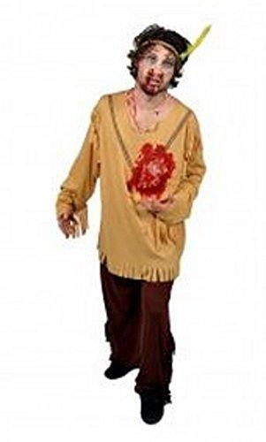 Morph Costume Co Battement de cœur Costume Indien mâle