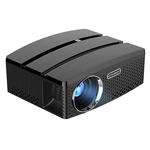 Lowest Prices! WiFi Mini Projector, GP80UP Android WiFi Mini LED Portable Projector 1800 Lumens Home...
