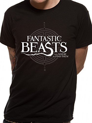 Cid Fantastic Beasts - Symbol Logo T-Shirt Homme Multicolore FR : XL (Taille Fabricant : XL)