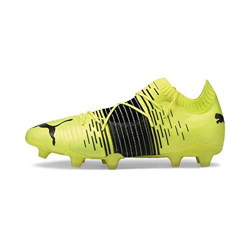Puma Future Z 1.1 FG/AG, Zapatillas de fútbol Hombre, Yellow Alert Black White, 44.5 EU