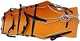GLJY Camilla de Rescate de Emergencia, Camilla portátil con Bolsas de Almacenamiento para Transporte de heridos y Enfermos, Naranja