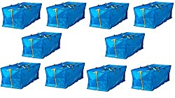 commercial Ikea 10X Large Blue Fracta Trolley Laundry Bag Suitcase ikea laundry bag