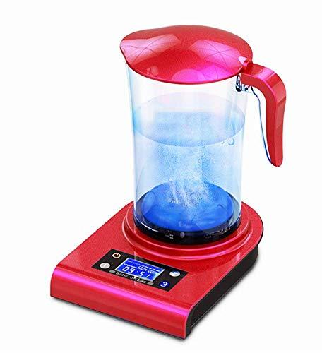 AHELT-J Jarra de Agua Hidrogenada | Hidrogenador de Agua | Agua Hidrogenada | Purificador de Agua con Hidrógeno | Propiedades Anti-oxidantes|Liquidación Últimas Unidades- 2L. (Azul, Rojo, Negro),Rojo