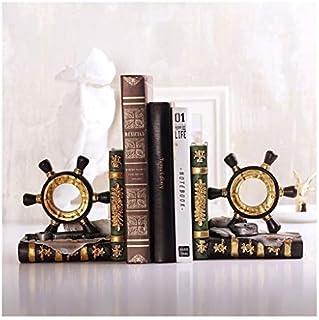 Bokstöd bokstativ kreativa träbokstöd för tunga böcker bokhylla bokhylla dekorationer skrivbordsprydnader present till bar...