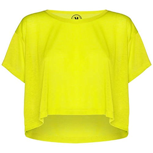 ROLY Camiseta de Mujer Cella, Lime (L/XL)