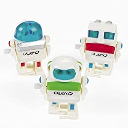 Wind Up Futuristic Robots