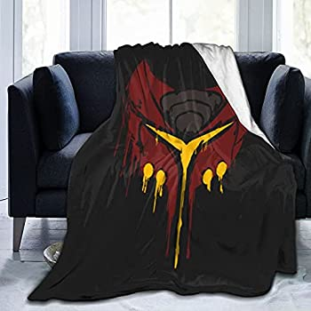 Ratchet and Clank Deadlocked Red Super Soft Flannel Throw Blanket Lightweight Shaggy Air Conditioner Blanket Cooling Blankets Cooling Summer Blanket Towel Blanket for Couch