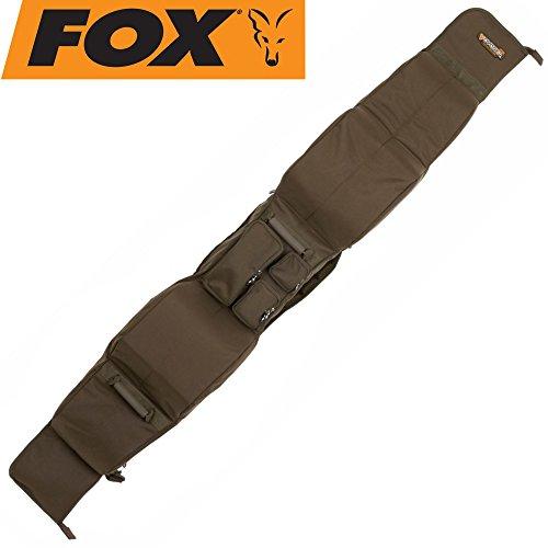 Fox Voyager 12ft 2+2 rod case 197x25x21cm - Rutenfutteral für Angelruten, Rutentaschen für Karpfenruten, Angeltasche für Angelrute