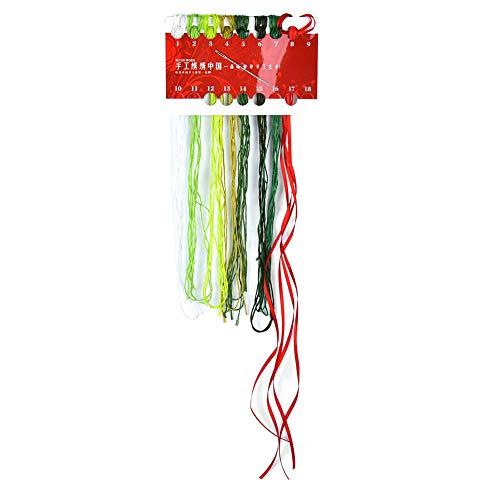 Geborduurde kit, gemaakt van stoffen borduurwerk doek borduurwerk hoepels bamboe borduurwerk Hoop voor u om het borduurwerk te doen.