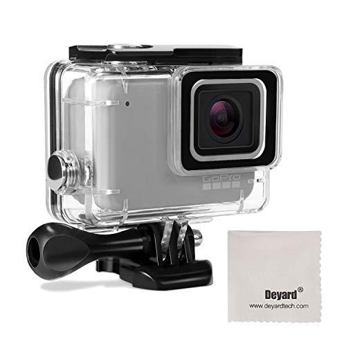 Deyard Waterproof Housing Case for GoPro Hero 7 White GoPro Hero 7 Silver with Quick Release Mount and Thumbscrew 45 Meters Underwater Photography