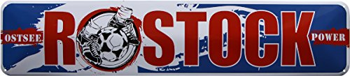 Mer Baltique Rostock Power Football 46 x 10 Plaque de strass Panneau str185