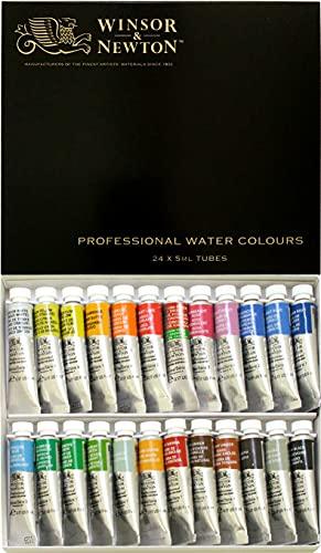 Windsor & Newton Artist Watercolor 24 Color Set