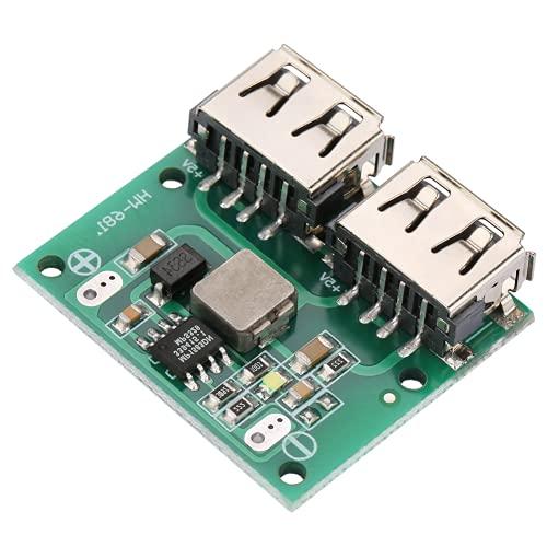 Módulo, rango de voltaje de entrada de 6-24 V, módulo de cargador de energía de proceso de precisión, alta eficiencia de conversión para módulo de refuerzo de fuente de alimentación