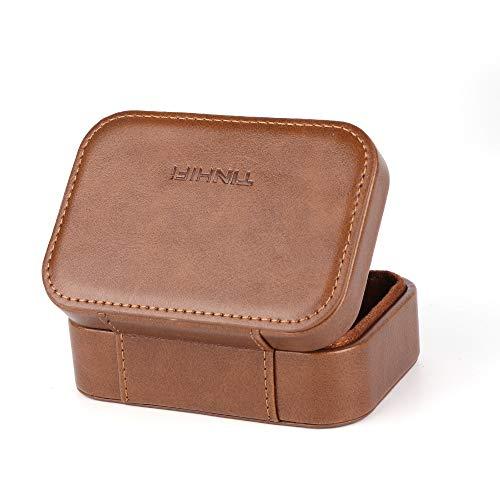 Linsoul TIN HiFi Portable PU Leather Storage Hülle for Tin Audio T2 T3 T2 PRO Earphones