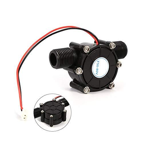 水力発電機 小型水力発電機 流れ水充電 水力 発電 水車 発電機 水力発電 モーター ハイパワー ブラシレス DIY 小型 家庭用 LEDライト充電 携帯電話充電 実用性 2種類(0-80V、5V)(0-80V)
