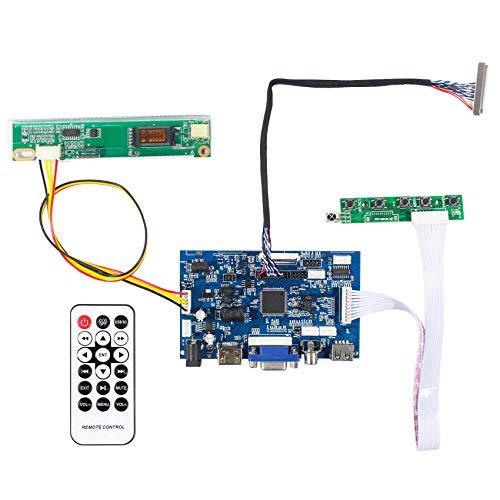 HDMI + VGA + 2AV + USB-Eingang LCD Controller Board für N156B3 LP156WH1 LTN156AT01 39,6 cm (15,6 Zoll) 1366 x 768 1CCFL 30-Pins LCD Panel