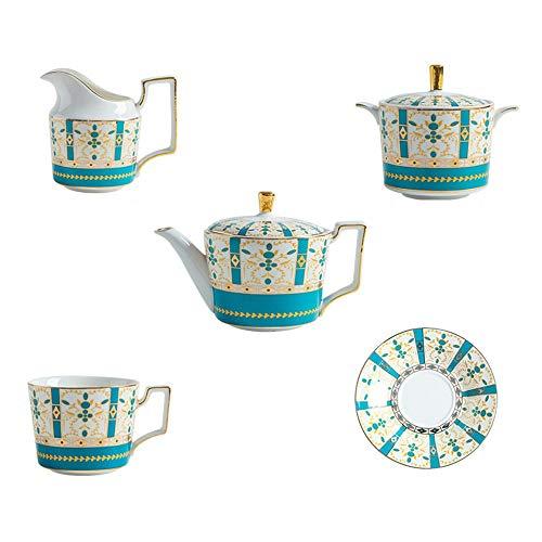HANSHAN Untertassen Set, Porzellan-Tee-Sets Keramik Kaffeetassen Espressotassen Mit Untertassen Geschenkset for Frauen