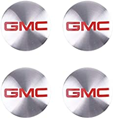 4 56mm for GMC wheel stickers, for GMC logo badge, hubcap center cover sticker
