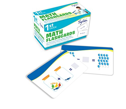Compare Textbook Prices for 1st Grade Math Flashcards: 240 Flashcards for Building Better Math Skills Addition & Subtraction, Place Value, Number Patterns, Comparing Numbers, Geometry, Time, Money Sylvan Math Flashcards Flc Crds Edition ISBN 9780307945471 by Sylvan Learning