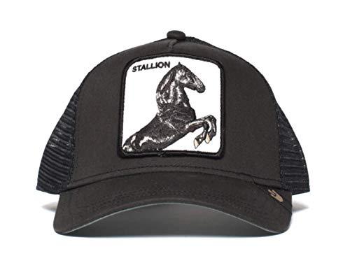 Goorin Bros. Gorra de béisbol para Hombre Caballo Negro. Talla única