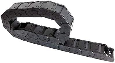Farleshop 1 st 25x38mm 1 Meter Gesloten Open aan beide zijden Plastic Drag Chain Kabel Wire Carrier Met Connector Voor CNC...