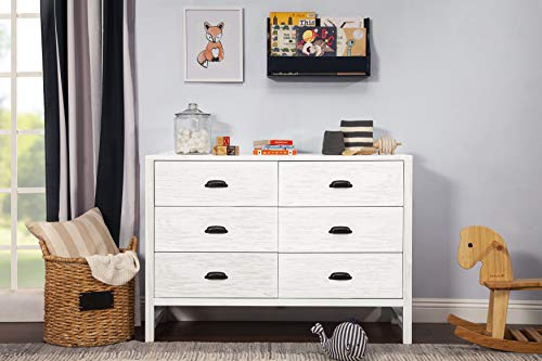 Learn More About DaVinci Fairway 6-Drawer Double Dresser, Cottage Grey