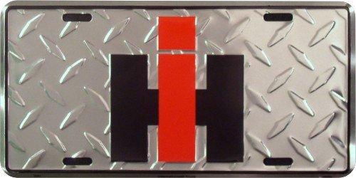 International Harvester License Plate (Diamond Plate)