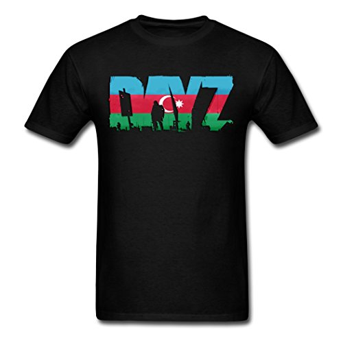 Funny On Discount Dayz Azerbaijan Design Logo Male T-Shirts X-Large