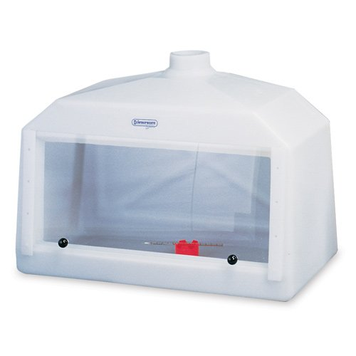 Bel-Art Large Molded Polyethylene Fume Hood with Acrylic Sash; 42 x 20 x 30 in. (H50000-0003)