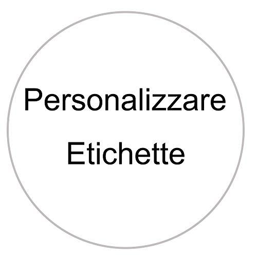 Personalizzare Etichette Adesivi Personalizzati Pvc Impermeabile Adesivo Parole Imagine Piccola Impresa LOGO, 200 500 1000 (5x5 cm)