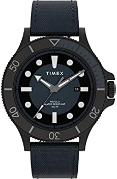 Timex Allied Coastline 43mm Fabric Strap Men's Watch