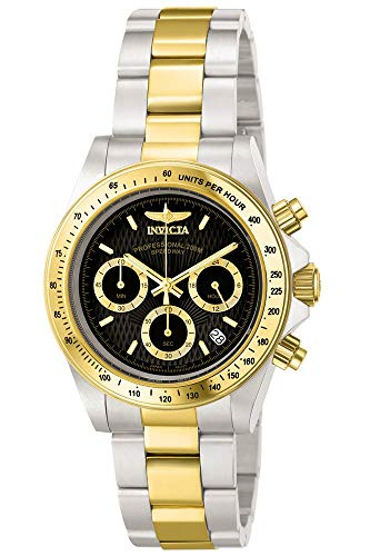 Invicta Men's Speedway 39.5mm Steel and Gold...