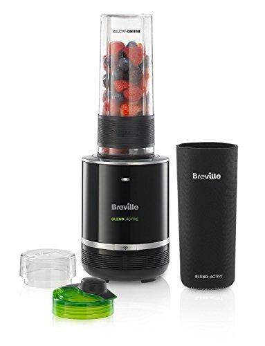 Breville Personal Blender VBL120, 300 W, 0.6 litros, Plástico, Negro