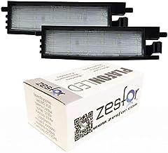 Zesfor Luces de matrícula LED para Toyota RAV4 III (05-12)