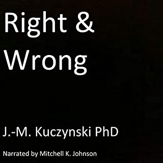 Right and Wrong audiobook cover art