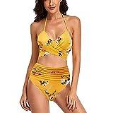 YANFANG Traje De BañO Mujer Bikinis Push Upbikini 2 Piezas con...