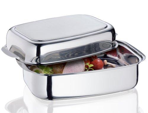 Küchenprofi, Edelstahl, Silber, 24 Centimeters